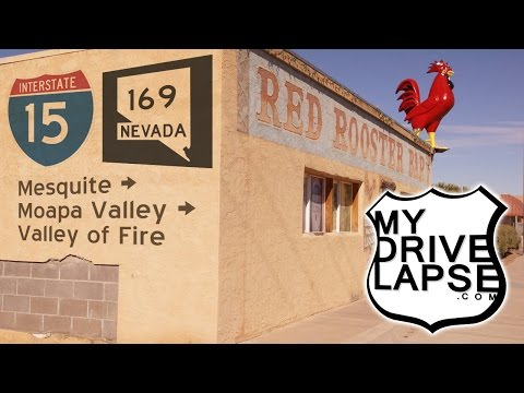 Nevada's Moapa Valley Scenic Drive to Valley of Fire