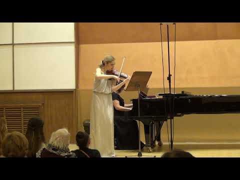 Johannes Brahms- Sonata for violin and piano No.3 D minor