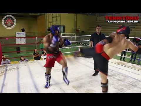 Magno vs Cristiano - Campeonato Mineiro de Muay Thai 2018