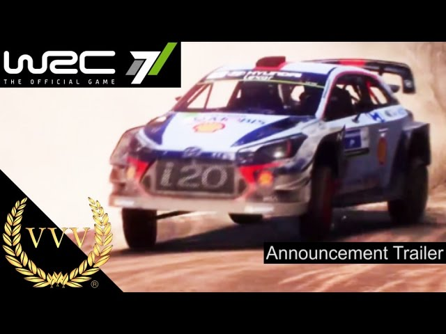 WRC 7 Announcement Trailer