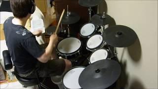 retourの定番ソング、幸せになりたいを叩いてみました。バンドで演奏す...