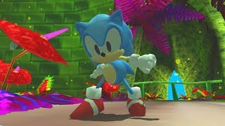 Sonic Adventure 2: Classic Sonic in Overhauled Green Forest