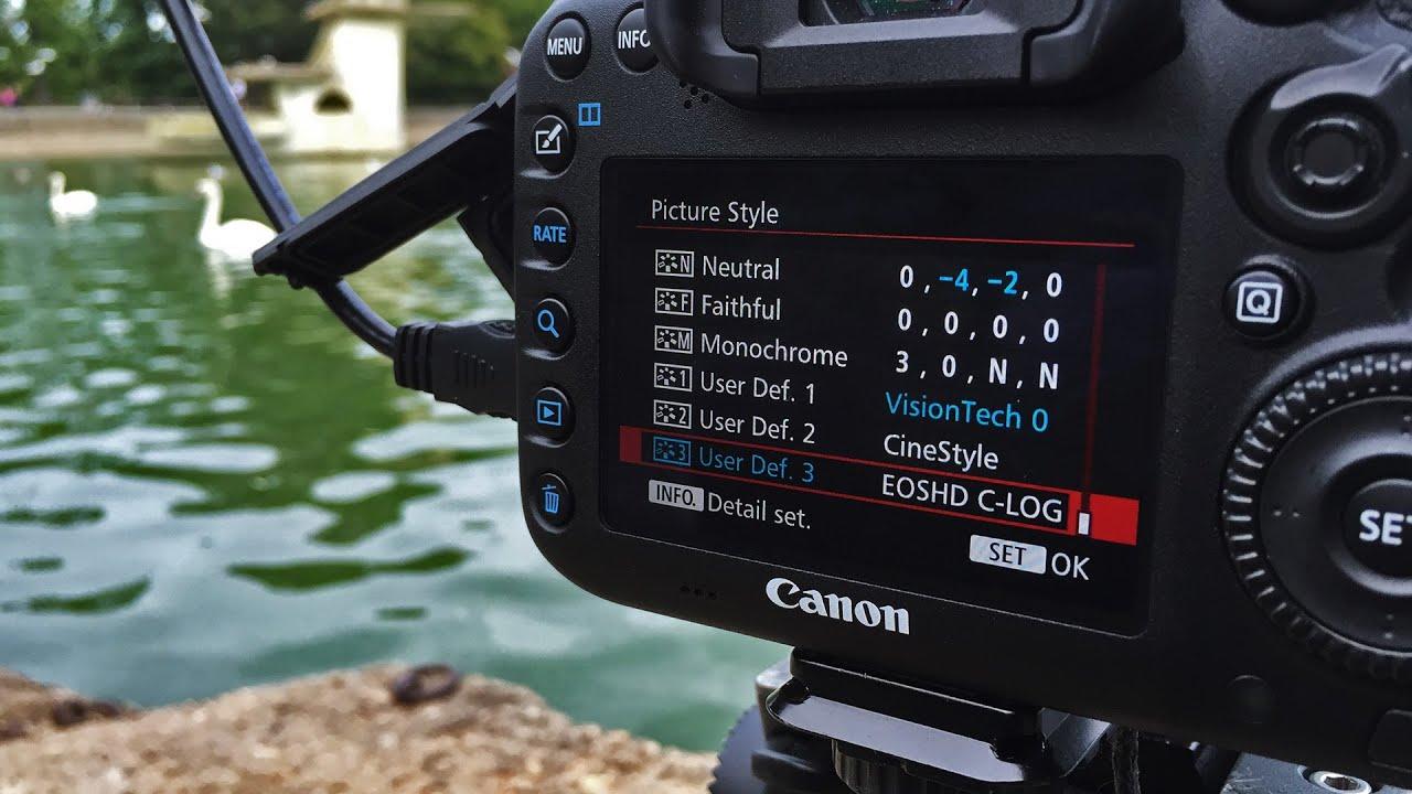 Canon 7D Mark II - C LOG