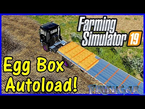 Let's Play Farming Simulator 19 #66: Egg Box Autoload!