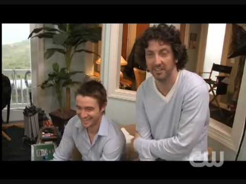 One Tree Hill - Season 7 - Behind The Scenes (Robert Buckley & Mark Schwahn)