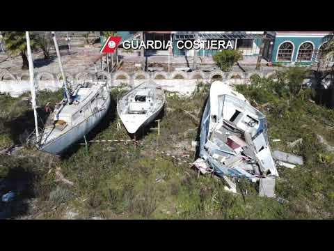 Gizzeria lido, la guardia costiera sequestra un'immensa discarica abusiva
