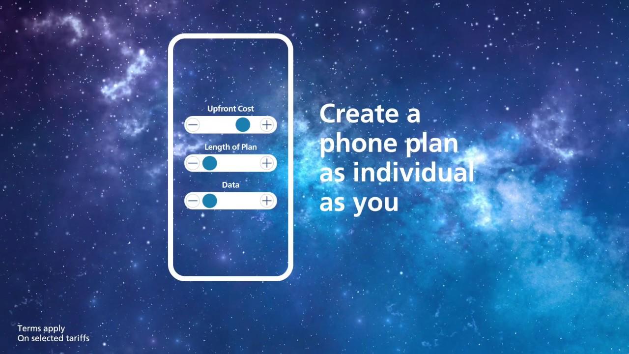 O2 custom plans | Customise your phone plan