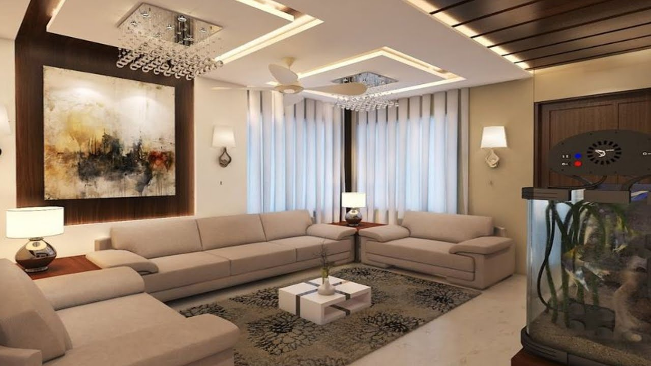 Latest trends in modern living room design ideas 20 Drawing room wall  decorating ideas