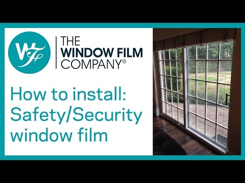 how to clean sunblock window film