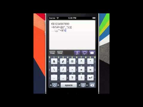 MovingKey : Spanish Big Finger & Diacritic Keyboard App for Android & iPhone