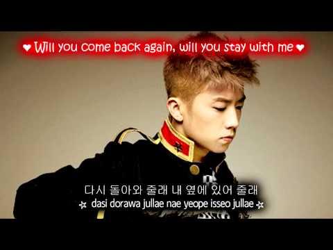 Wooyoung (2PM) Falling Down [Eng Sub + Romanization + Hangul] HD