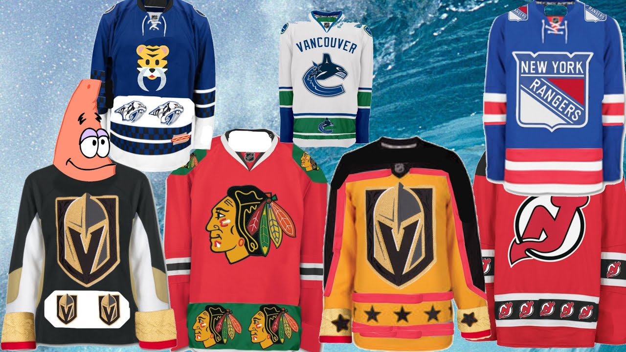 NHL New Adidas Jerseys - YouTube f26edf76427