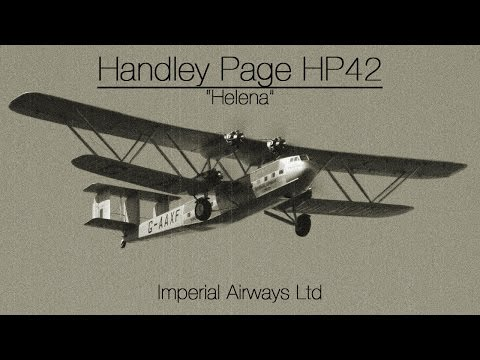 "Handley Page HP42 ""Helena"" - Imperial Airways Ltd"