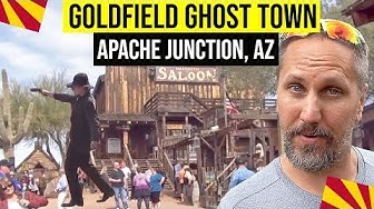 Apache Junction, Arizona: Goldfield Ghost Town | Things To Do In Arizona | Phoenix