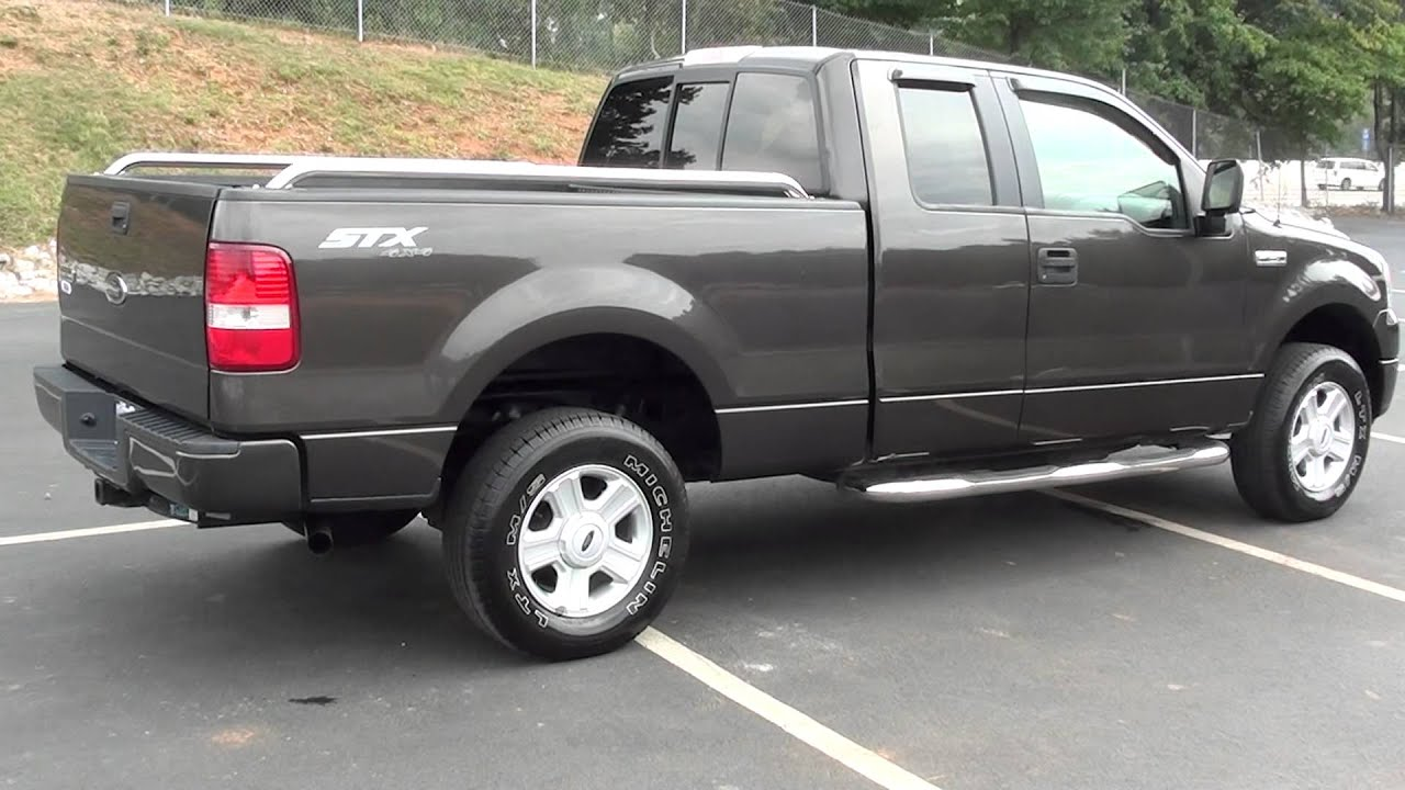 for sale 2005 ford f 150 stx 4x4 stk p5743 youtube. Black Bedroom Furniture Sets. Home Design Ideas