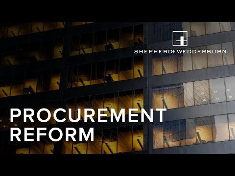 Procurement Reform - How to Protect Against Bribery and Corruption in Infrastructure Projects