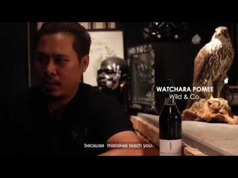 SPIRIT of ART - TATTOOED BARTENDERS, BANGKOK SERIES | (Ozzy) Watchara Pomee, Wild & Company