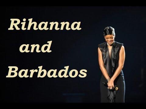 RIHANNA SPEAKING ABOUT BARBADOS