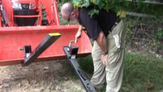 Titan Clamp on Pallet Fork Tines 4000lbs Kubota L3301 Loader Bucket Tractor Review