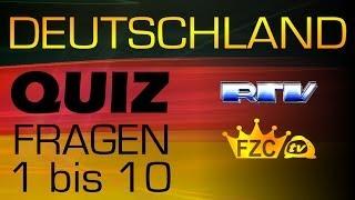 Deutschland Quiz Fragen 1-10