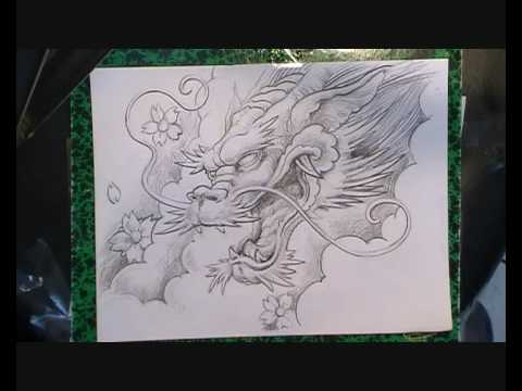 Video dessin dragon youtube - Dessin de chinoise ...