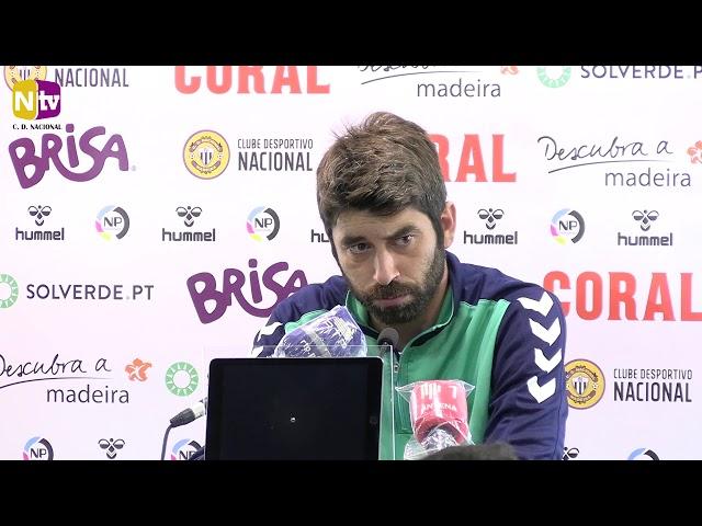 Luís Freire antevê jogo em Braga: