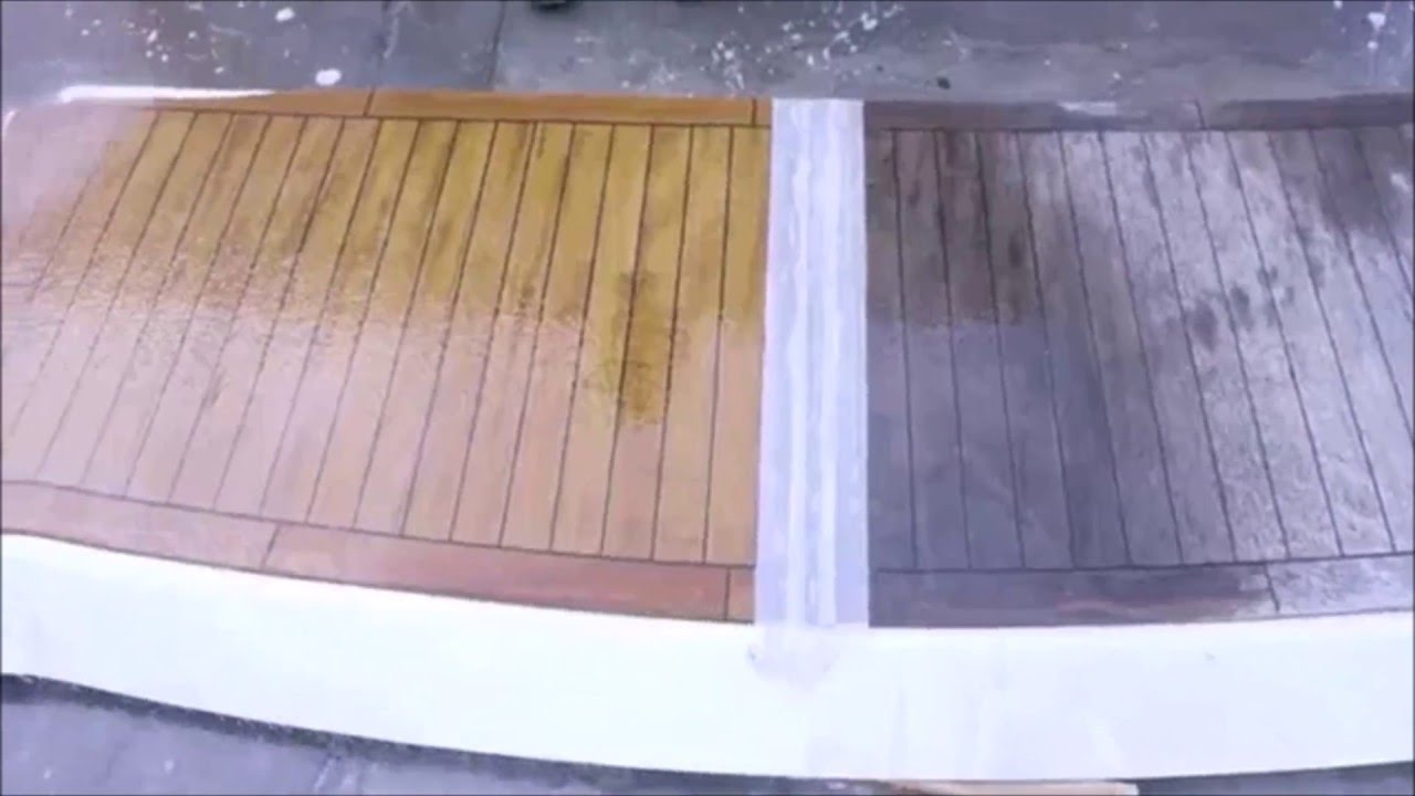 Como restaurar la Teca facil y rapido con ALLEGRINI - D&CZ - YouTube
