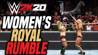 WWE 2K20 Women's Royal Rumble EARLY EXCLUSIVE GAMEPLAY