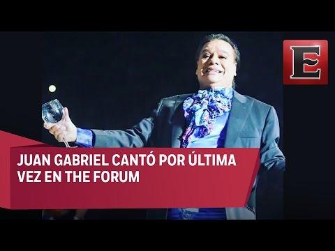 Juan Gabriel ofreció su último concierto en Santa Mónica