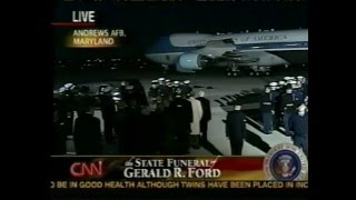 State Funeral of President Gerald R. Ford CNN Coverage 12-30-2006