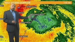 Hurricane Florence Makes Landfall