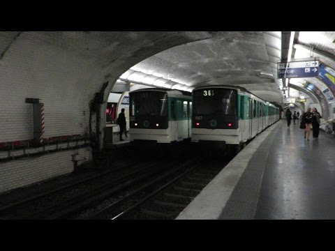 [Paris] MF67 Métro 3 - Anatole France