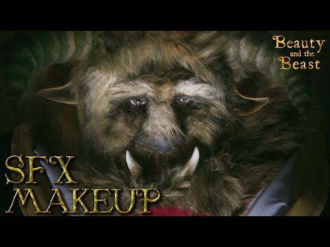 Beauty and the Beast  - Beast SFX Makeup Tutorial