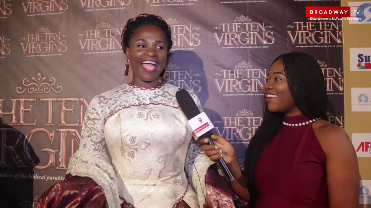 """Download Full Highlights Of """"The Ten Virgins"""" Movie Premiere By Blessing Egbe"""