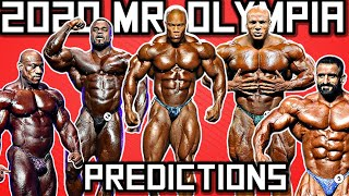 2020 Olympia Predictions- Top 6 Nick's Strength and Power