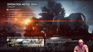 """Battlefield 4 """"Clan Battle BOSS Vs GMM"""""""
