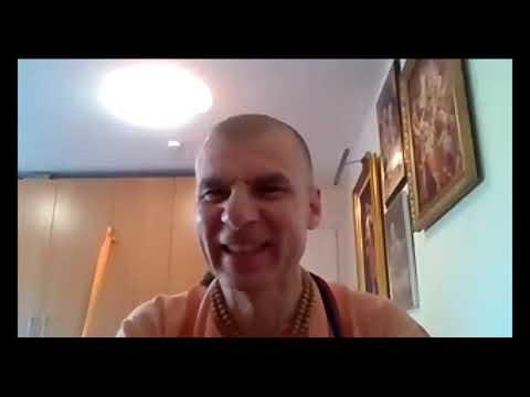 Bhakti Rasayana Sagar Swami   Vrindavan Das Thakur's Appearance Day, CC Adi 8.40, May 2020