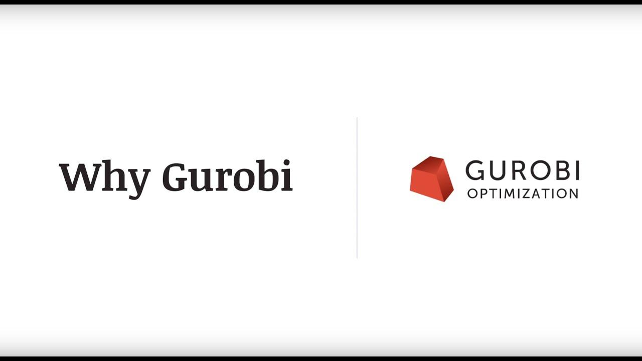 Gurobi - The fastest solver - Gurobi
