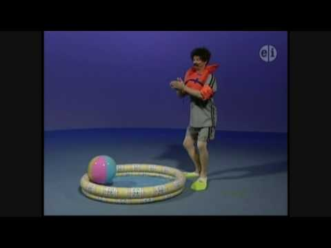 Elmo's World Asking Mr. Noodle - How do you swim in water?