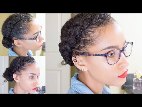NATURAL HAIR | 3 Easy Curly Updo Hairstyles