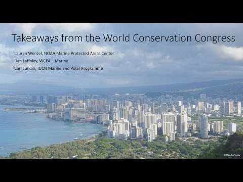 Ocean Highlights from the IUCN World Conservation Congress
