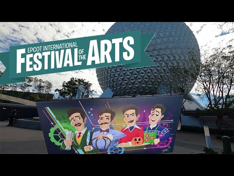 These Paintings At EPCOT's Festival Of The Arts Are Amazing!!!
