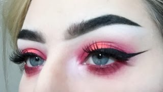 Red Eyeshadow - devinxbeck
