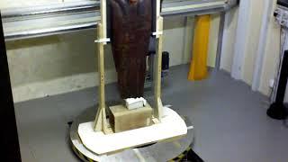 Il Sarcofago del Museo Egizio fa la TAC