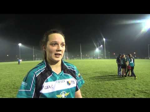 Maynooth University Ladies win League title