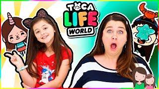 Ava & Jade spielen TOCA LIFE WORLD 🥳 Let's Play Toca Life World