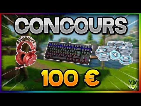CONCOURS (V-BUCKS + CLAVIER + CASQUE) • 20 000 Abonnés (Studio Nordic)