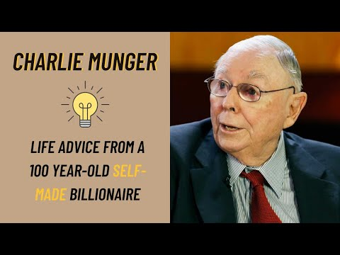Charlie Munger: 100 Years Of Wisdom Summed Up In 20 Minutes