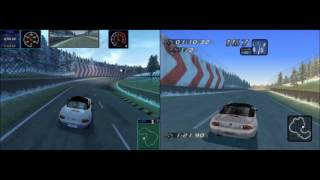 NFS High Stakes - PC vs PS1 comparison
