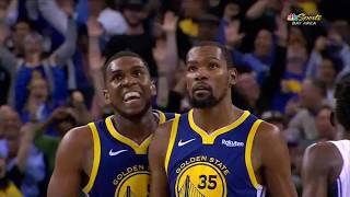 Kevin Durant Seals the Game With the Dagger Three - Magic vs Warriors   November 26, 2018
